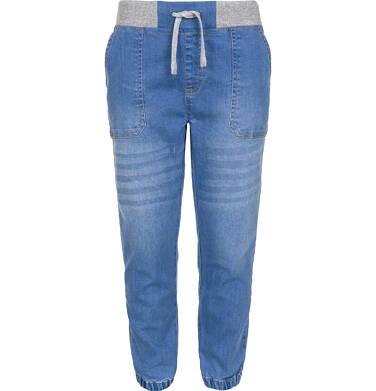 Endo - Spodnie jeansowe typu jogger dla chłopca 9-13 lat C91K501_1
