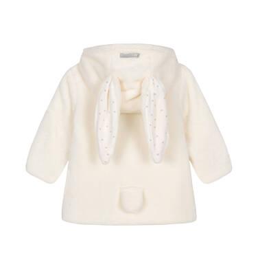 Endo - Kurtka polarowa dla małego dziecka, Jestem jak z bajki, porcelanowa, z uszkami i ogonkiem N92A011_1 17