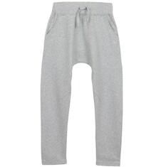 Spodnie dresowe z obniżonym krokiem dla chłopca 3-8 lat C62K006_1
