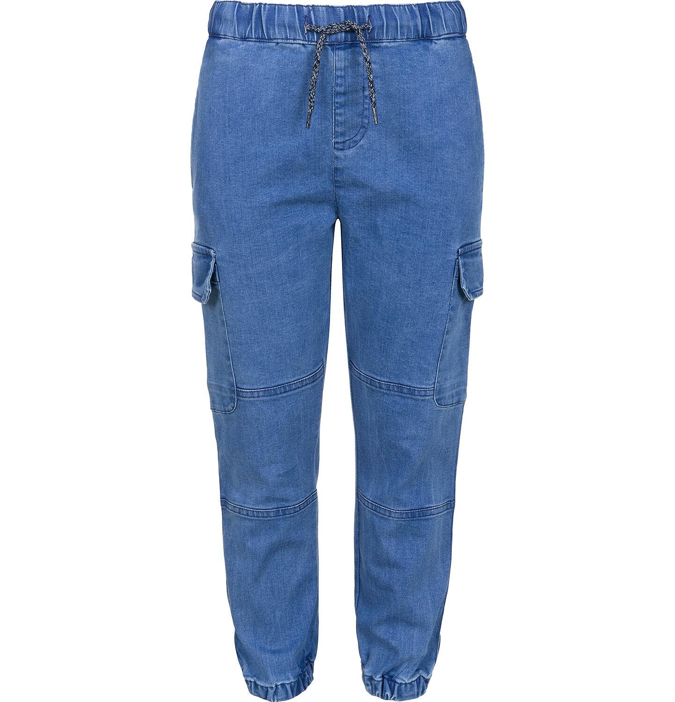 Endo - Spodnie jeansowe typu jogger dla chłopca 3-8 lat C91K002_1