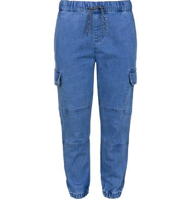 Spodnie jeansowe typu jogger dla chłopca 3-8 lat C91K002_1
