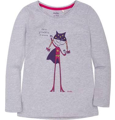 Endo - Bluzka z długim rękawem  dla dziewczynki 9-13 lat D72G572_1