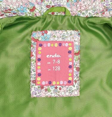 Endo - Parka dla dziewczynki 3-8 lat D81A001_1