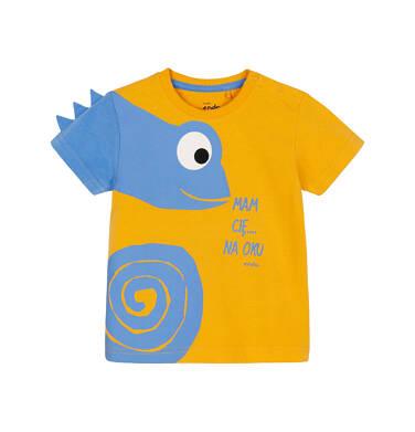 T-shirt z krótkim rękawem dla dziecka 0-3 lata N91G090_1