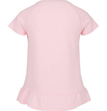 Endo - Bluzka z krótkim rękawem dla dziewczynki 3-8 lat D91G105_2