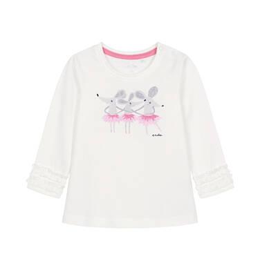 Endo - Bluzka z długim rękawem dla dziecka 0-3 lata N92G096_2