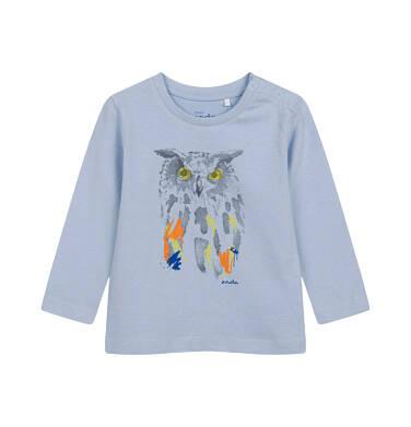 Endo - T-shirt z długim rękawem dla dziecka do 2 lat, z sową N04G010_1 27
