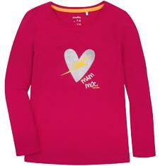 Endo - Bluzka z długim rękawem  dla dziewczynki 9-13 lat D72G566_2
