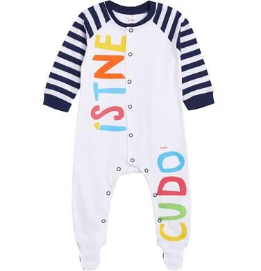 Endo - Pajac z reglanowym rękawem dla dziecka 0-3 lata N81N022_1