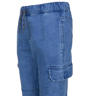 Endo - Spodnie jeansowe typu jogger dla chłopca 9-13 lat C91K502_1