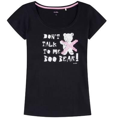 Endo - Klasyczna bluzka damska z krótkim rękawem Y81G006_1