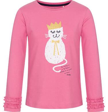 Endo - Bluzka z długim rękawem dla dziewczynki 3-8 lat D92G023_1