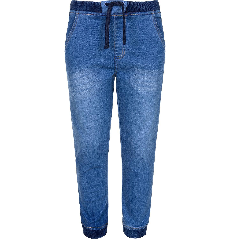 Endo - Spodnie jeansowe typu jogger dla chłopca 9-13 lat C91K503_1