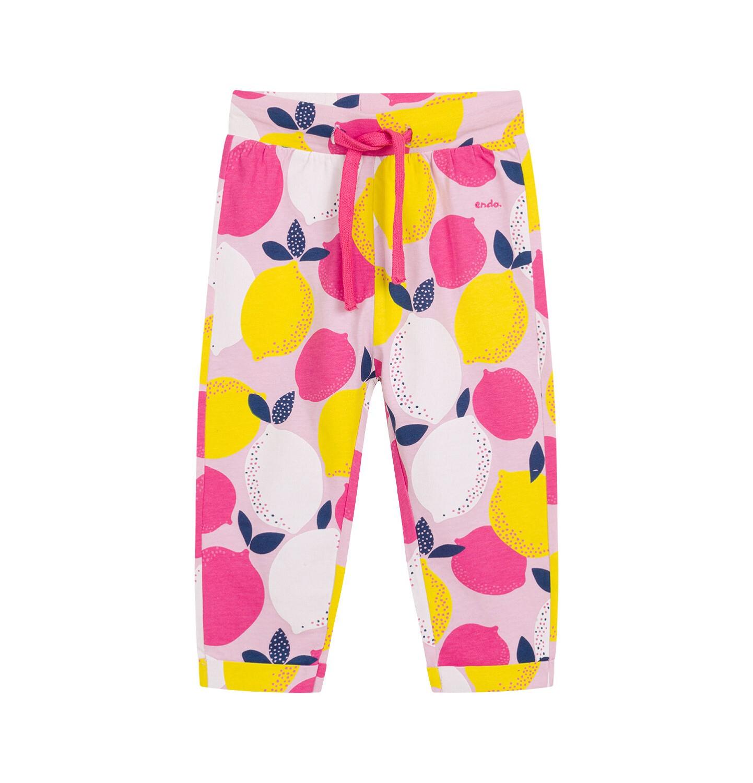 Endo - Spodnie dla dziecka do 2 lat, deseń w cytryny N03K033_1