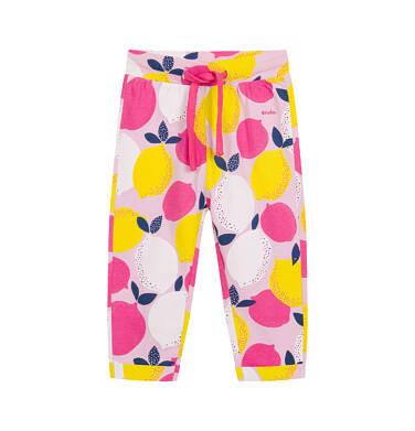 Endo - Spodnie dla dziecka do 2 lat, deseń w cytryny N03K033_1,1