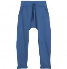 Spodnie dresowe z obniżonym krokiem dla chłopca 3-8 lat C62K006_3