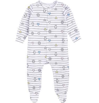 Endo - Pajac o klasycznym kroju dla dziecka 0-3 lata N81N029_1