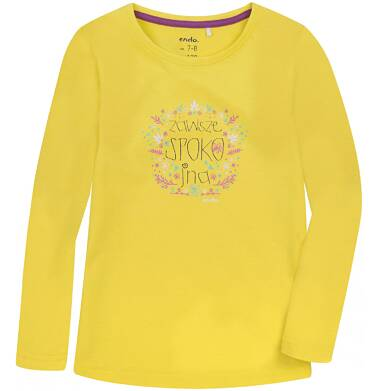 Endo - Bluzka z długim rękawem  dla dziewczynki 9-13 lat D72G589_3
