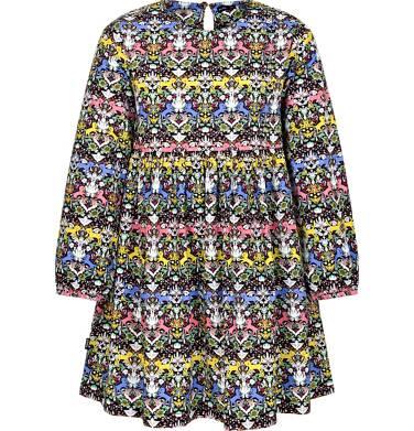 Endo - Sukienka z długim rękawem dla dziewczynki 9-13 lat D92H513_1 10