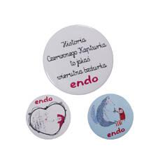 Endo - Przypinki - zestaw SDV52Z09_1