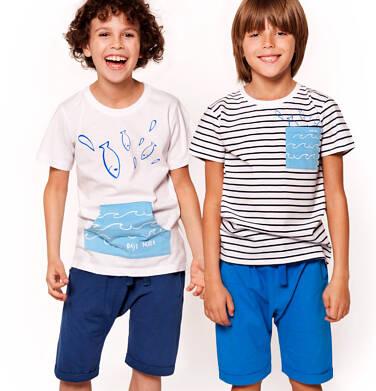 Endo - Krótkie spodenki dresowe dla chłopca 3-8 lat C91K047_1