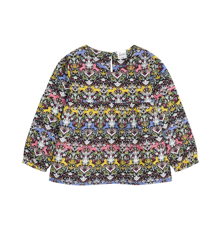 Endo - Koszula z długim rękawem dla dziecka 0-3 lata N92F014_1
