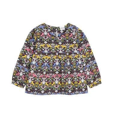 Koszula z długim rękawem dla dziecka 0-3 lata N92F014_1