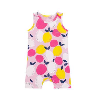 Endo - Rampers dla dziecka do 2 lat, deseń w cytryny N03N018_1