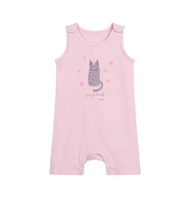 Endo - Rampers dla dziecka do 2 lat, z kotem, różowy N03N019_1 11
