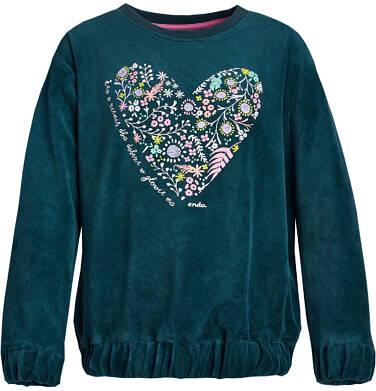 """Endo - """"Kto o ziemię dba dobrze w głowie ma"""" Bluza z długim rękawem dla dziewczynki 9-13 lat D82C511_1"""