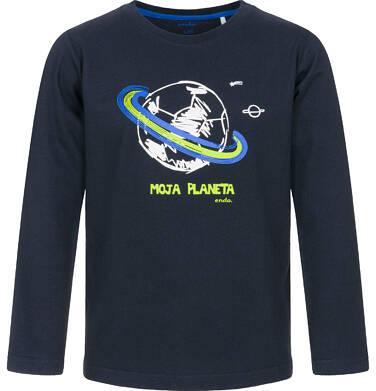 Endo - T-shirt z długim rękawem dla chłopca 9-13 lat C92G520_2