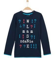 T-shirt z długim rękawem dla chłopca 3-8 lat C62G092_1