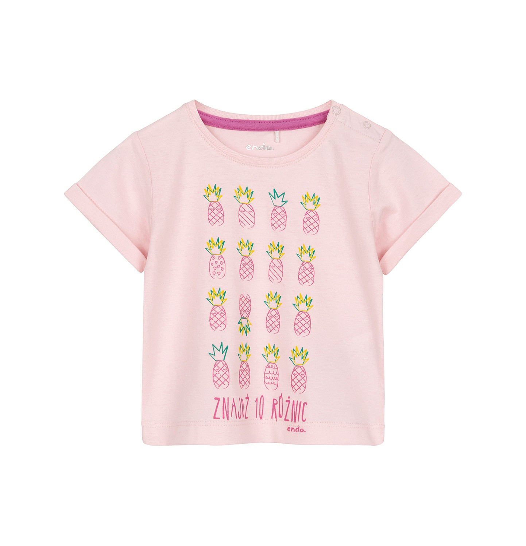 Endo - T-shirt z krótkim rękawem dla dziecka 0-3 lata N91G125_1