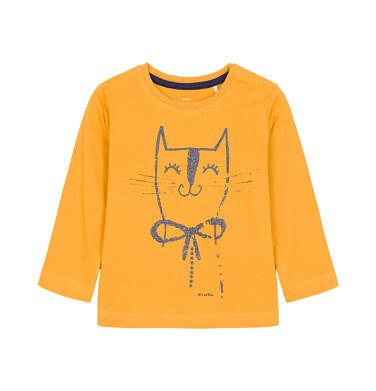 T-shirt z długim rękawem dla dziecka 0-3 lata N92G009_1