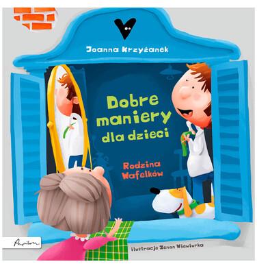 Endo - Dobre maniery dla dzieci rodzina wafelków, Joanna Krzyżanek, Centrum Edukacji Dziecięcej BK04376_1 5