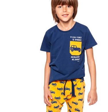 Endo - Krótkie spodenki dresowe dla chłopca 3-8 lat C91K062_1