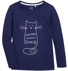 Endo - Bluzka z długim rękawem  dla dziewczynki 9-13 lat D72G502_1
