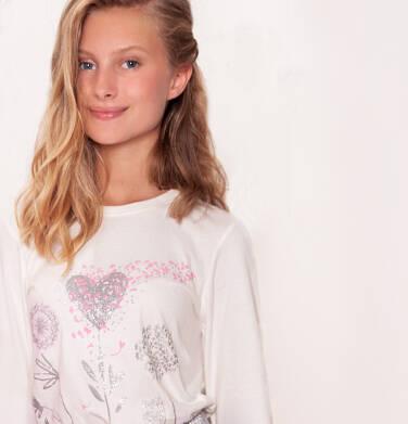 Endo - Bluzka z długim rękawem dla dziewczynki 3-8 lat D92G093_1