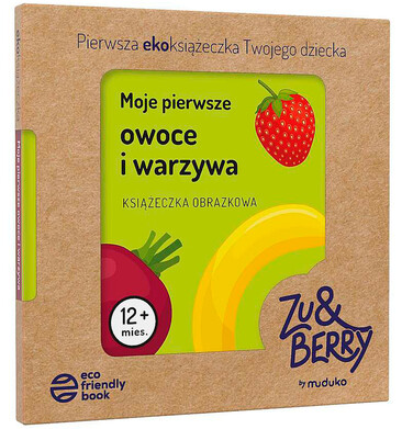 Endo - Moje pierwsze owoce i warzywa. Książeczka obrazkowa, Opracowanie zbiorowe, Wydawnictwo MUDUKO BK04383_1 3