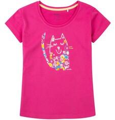 Bluzka z krótkim rękawem dla dziewczynki 9-13 lat D71G680_1