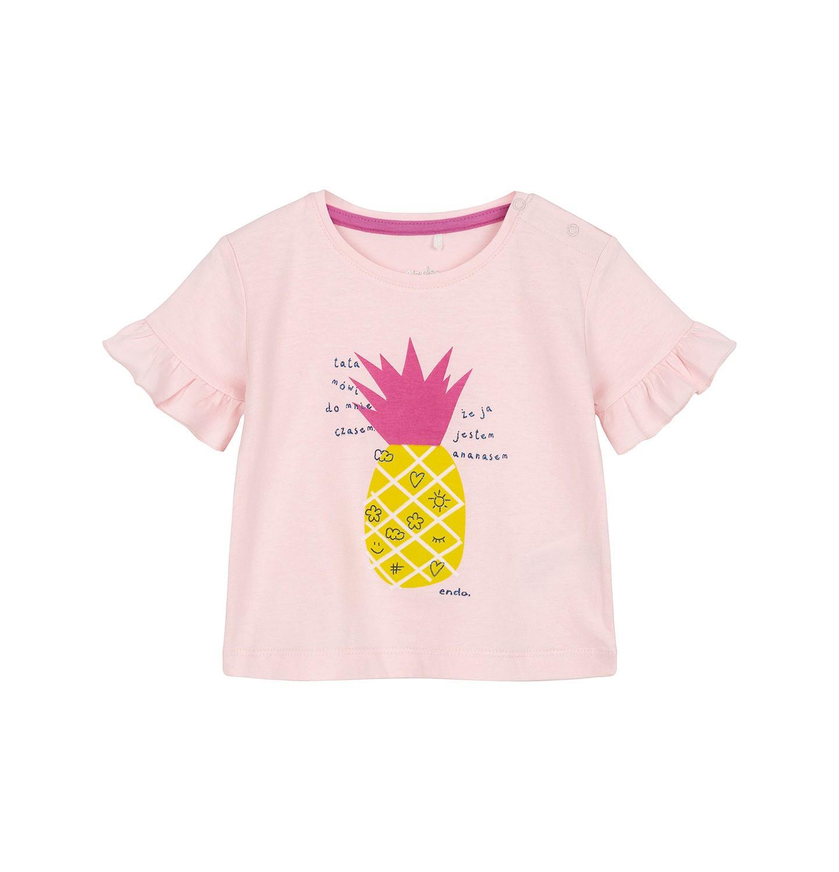 Endo - T-shirt z krótkim rękawem dla dziecka 0-3 lata N91G126_1