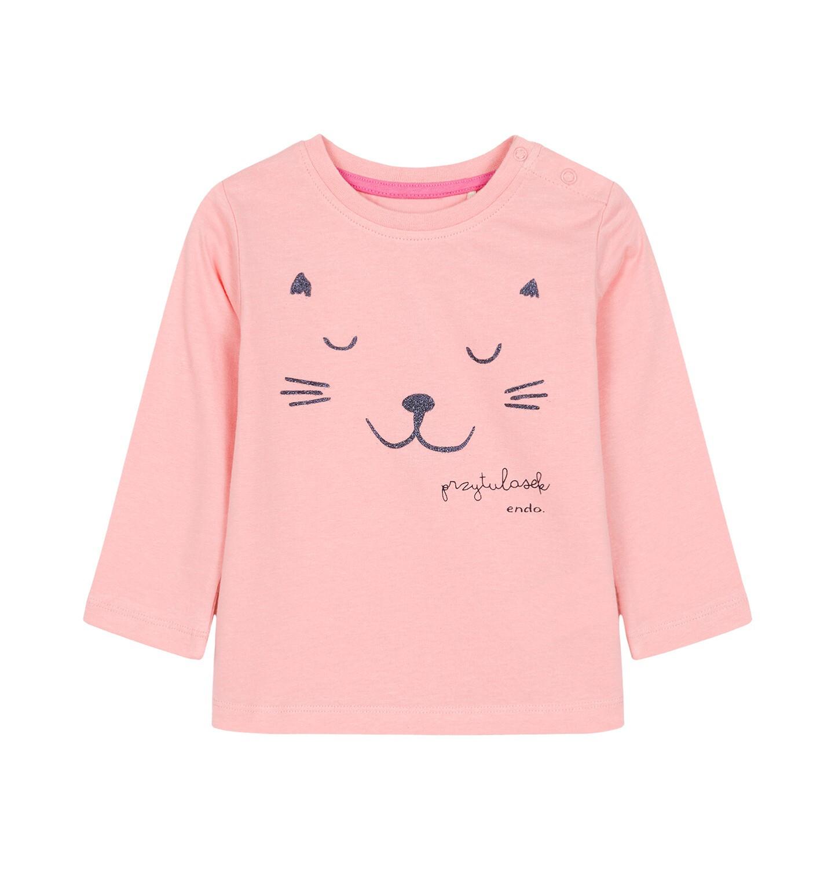 Endo - T-shirt z długim rękawem dla dziecka 0-3 lata N92G010_1