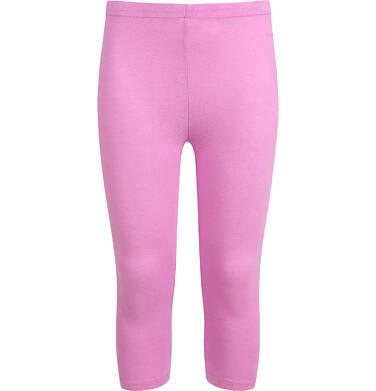 Endo - Legginsy 3/4 dla dziewczynki, różowe, 2-8 lat D03K002_4 7
