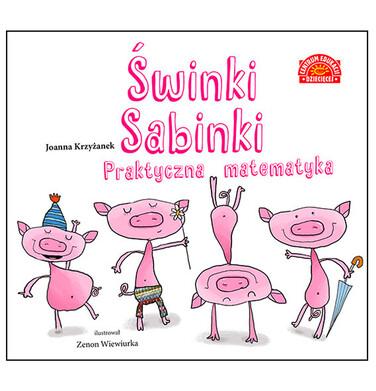 Endo - Świnki Sabinki. Praktyczna matematyka, Joanna Krzyżanek, Centrum Edukacji Dziecięcej BK04388_1 1
