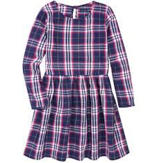 Romantyczna sukienka w kratkę dla dziewczynki 9-13 lat D72H557_1