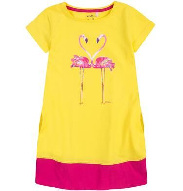 Endo - Sukienka trapezowa dla dziewczynki 4-8 lat D71H032_1