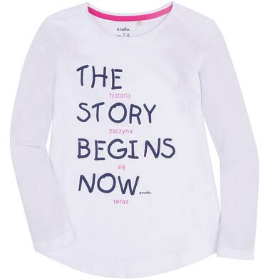 Endo - Bluzka dla dziewczynki 9-13 lat D72G651_1