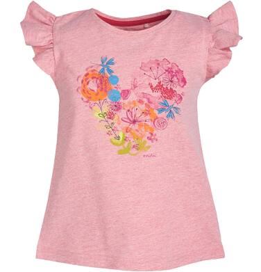 Endo - Bluzka z krótkim rękawem dla dziewczynki 3-8 lat D81G111_1