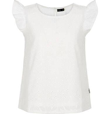 Bluzka z haftowanej tkaniny dla dziewczynki 9-13 lat D91D507_1