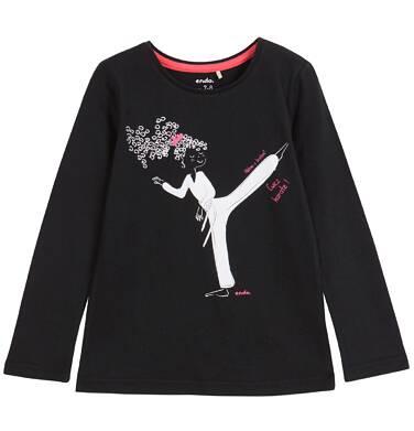 Endo - Bluzka z długim rękawem dla dziewczynki 3-8 lat D62G132_1